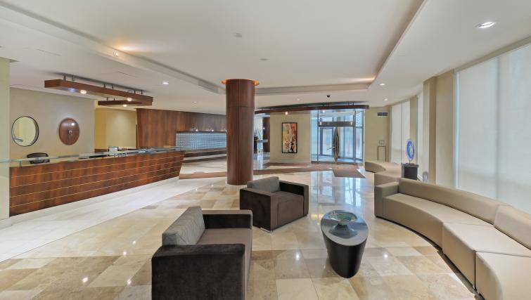 Lobbvy at Qwest Apartments - Citybase Apartments