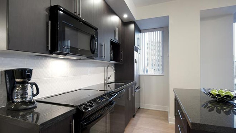 Gorgeous kitchen in James Cooper Mansion Apartments - Citybase Apartments