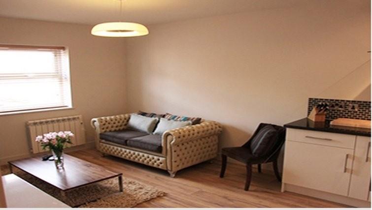 Living area in Bridge Apartments - Citybase Apartments