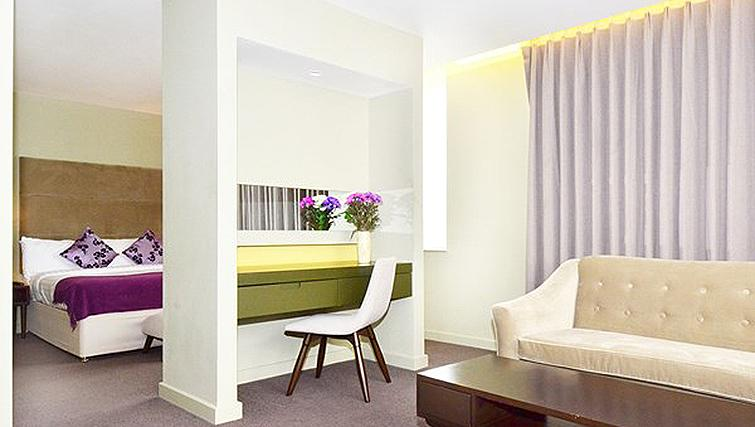 Delightful living area in So Battersea Apartments - Citybase Apartments