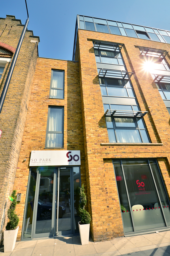 Entrance at So Battersea Apartments, Battersea, London - Citybase Apartments