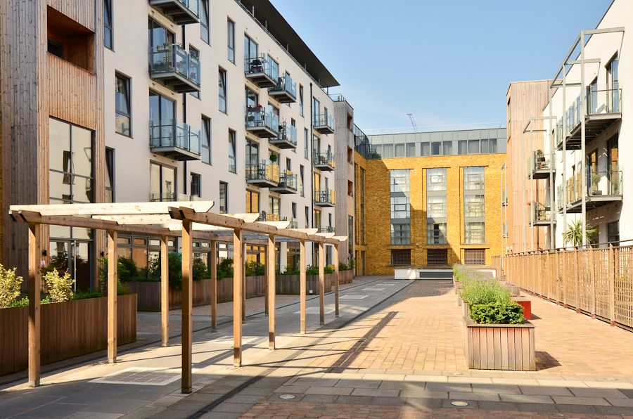 Exterior at So Battersea Apartments, Battersea, London - Citybase Apartments