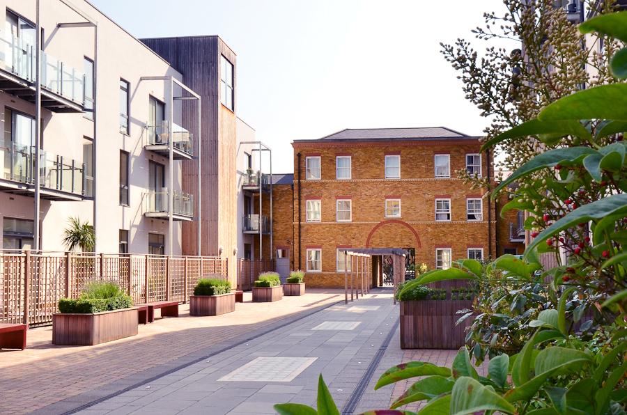 Road at So Battersea Apartments, Battersea, London - Citybase Apartments