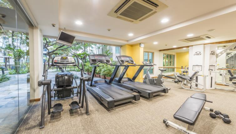 Gym at Somerset Bencoolen Apartments, Singapore - Citybase Apartments