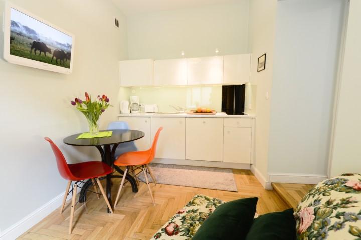 Kitchen at Rosa and Manka Apartments - Citybase Apartments