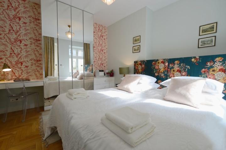 Bedroom at Rosa and Manka Apartments - Citybase Apartments