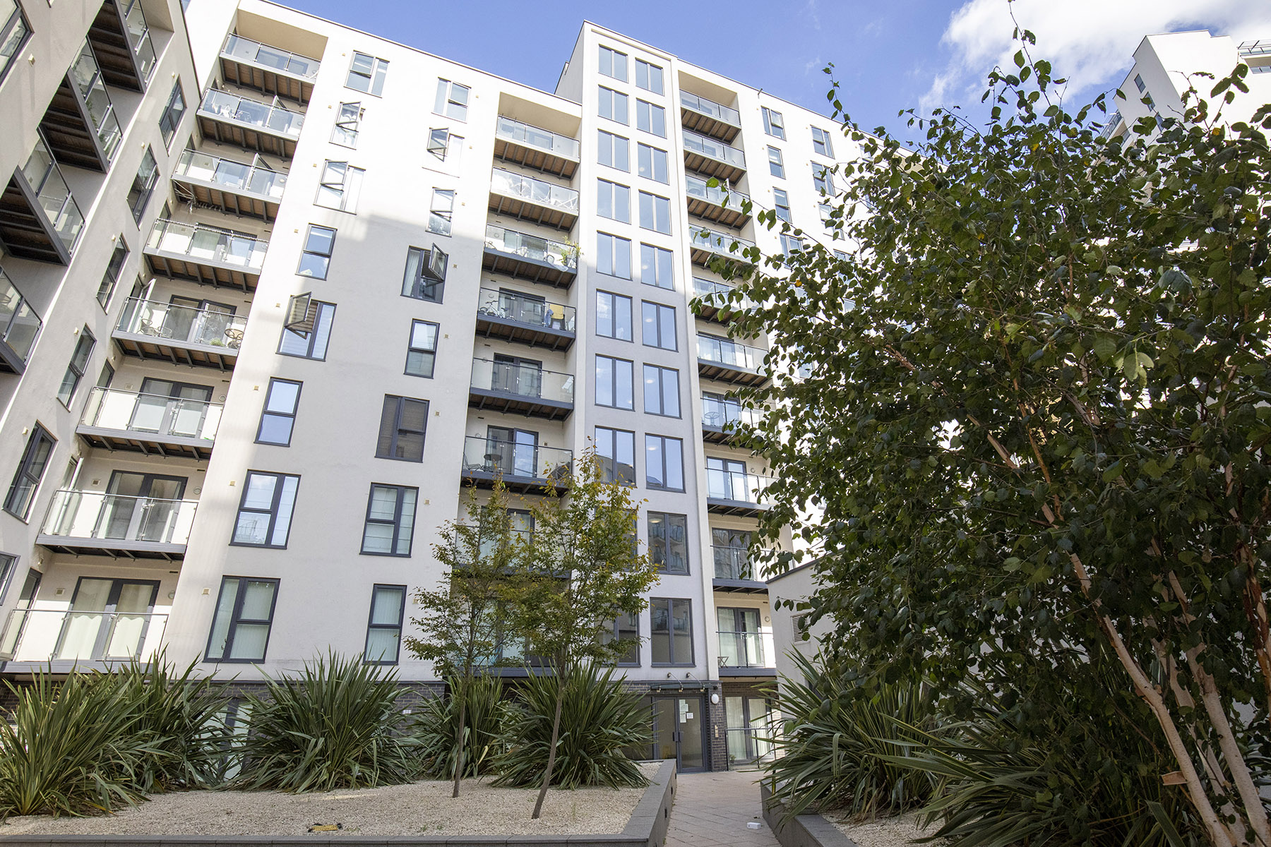 Exterior at New Central Apartments, Centre, Woking - Citybase Apartments