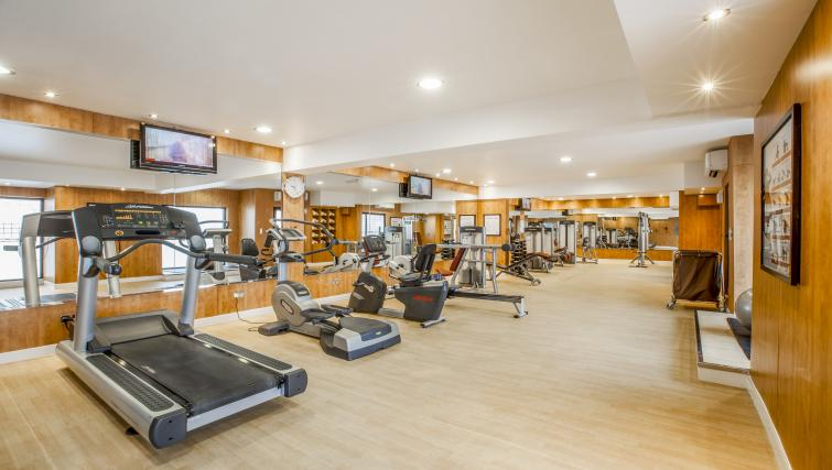 Fitness centre at Golden Sands Apartments - Citybase Apartments
