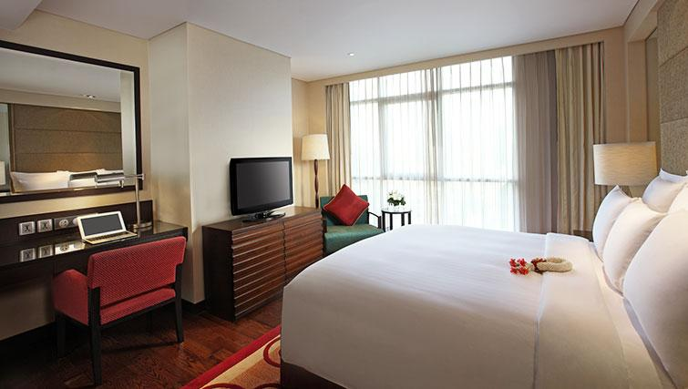Classy bedroom in Marriott Executive Apartments Sathorn Vista - Bangkok - Citybase Apartments