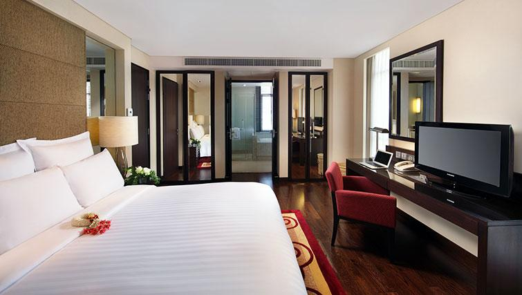 Delightful bedroom in Marriott Executive Apartments Sathorn Vista - Bangkok - Citybase Apartments
