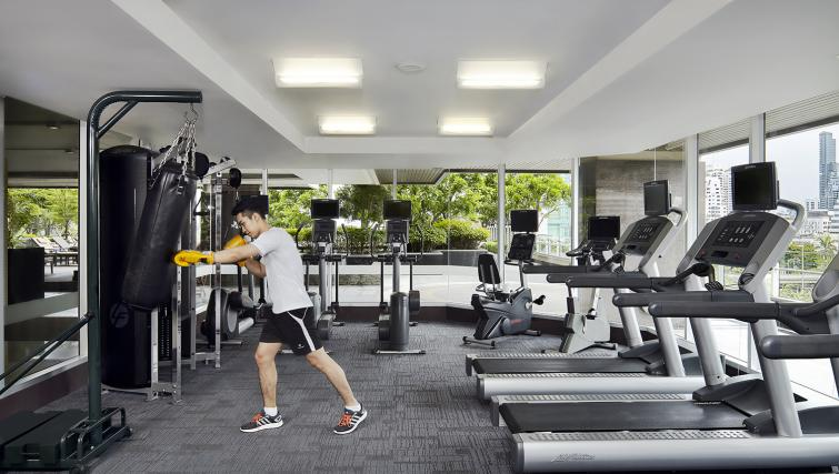 Gym at Marriott Executive Apartments Sathorn Vista - Bangkok - Citybase Apartments