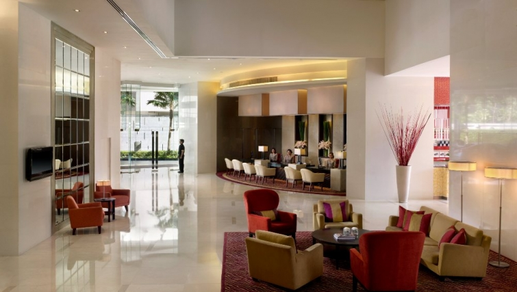 Divine lobby area in Marriott Executive Apartments Sukhumvit Park - Bangkok - Citybase Apartments