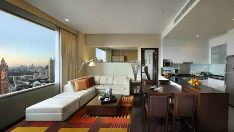Multifunctional living area in Marriott Executive Apartments Sukhumvit Park - Bangkok - Citybase Apartments