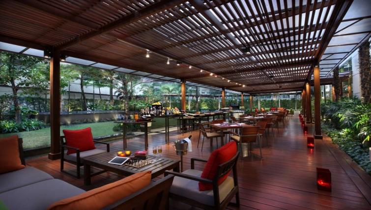 Charming restaurant in Marriott Executive Apartments Sukhumvit Park - Bangkok - Citybase Apartments