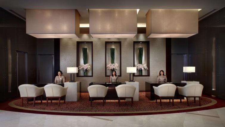 Reception at Marriott Executive Apartments Sukhumvit Park - Bangkok - Citybase Apartments