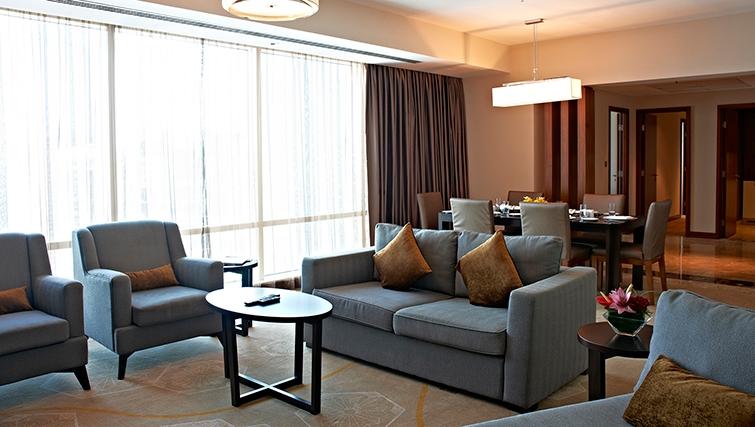 Sofa at InterContinental Doha The City - Citybase Apartments