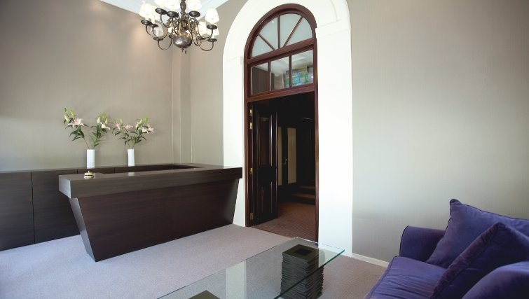 Modern reception in The Kefalari Suites - Citybase Apartments