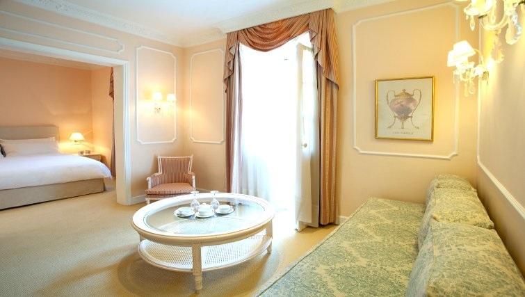 Elegant living area in The Kefalari Suites - Citybase Apartments