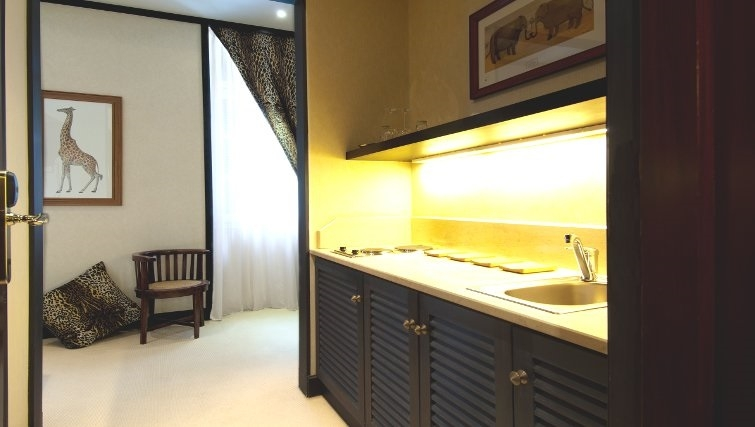 Ideal kitchen in The Kefalari Suites - Citybase Apartments