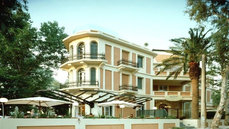 Attractive exterior of The Kefalari Suites - Citybase Apartments