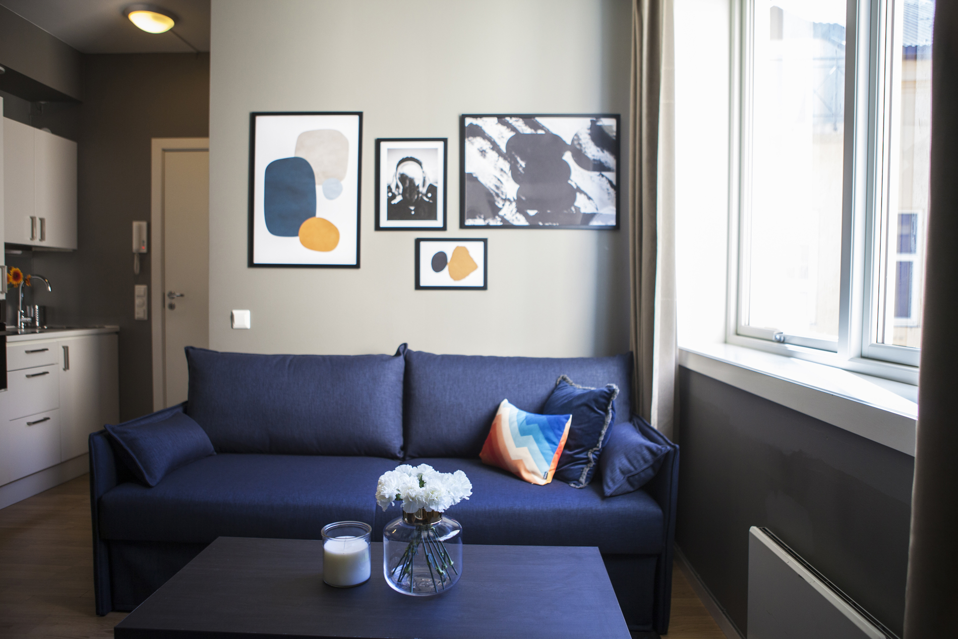 Living room at Arbinsgate Apartments - Citybase Apartments