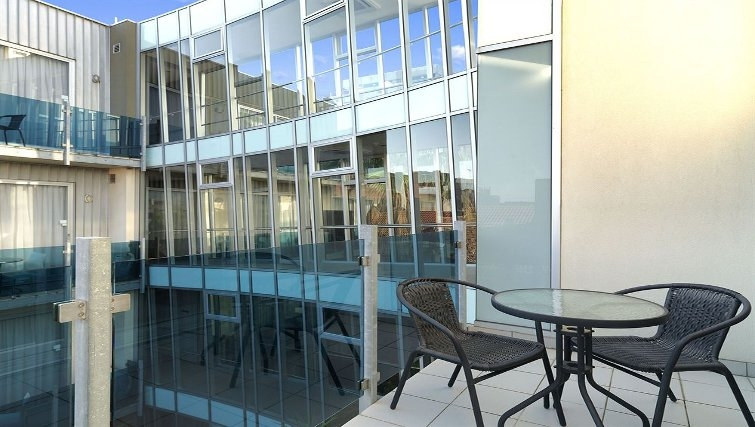 Ideal balcony in Adina Apartment Hotel Melbourne, St Kilda - Citybase Apartments