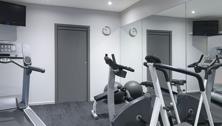 Practical gym in Adina Apartment Hotel Melbourne, St Kilda - Citybase Apartments