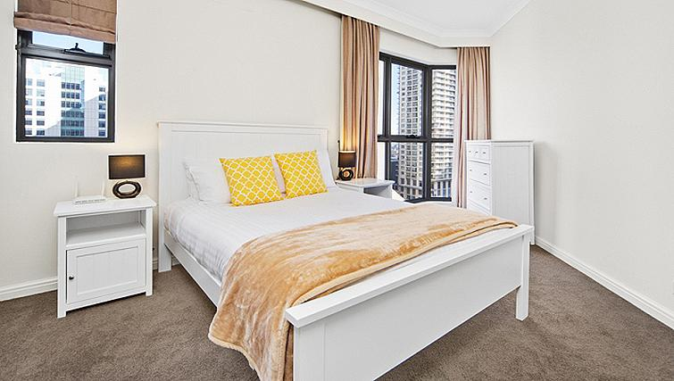 Relaxing bedroom in Astra Regency Hyde Park Apartments - Citybase Apartments