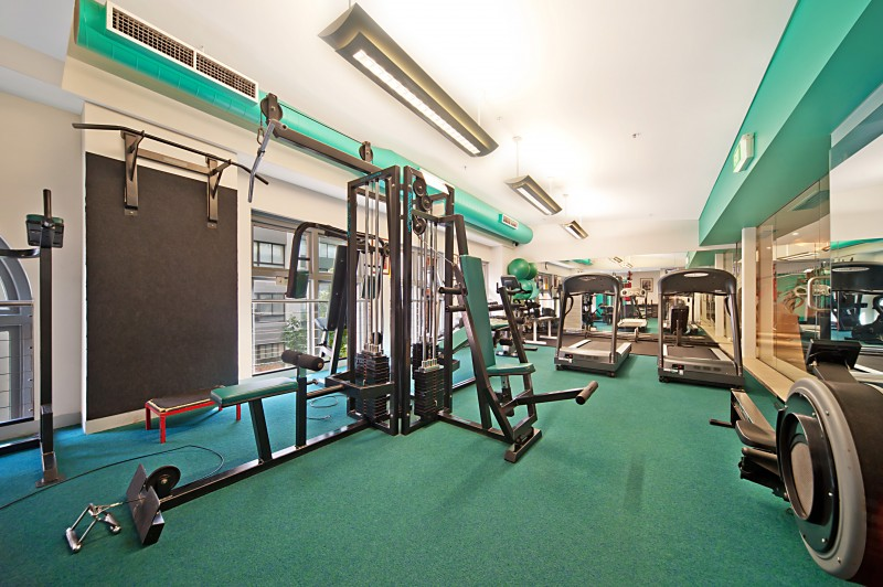 Gym at Astra Regency Hyde Park Apartments - Citybase Apartments