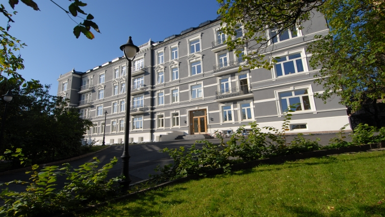 Stunning exterior of Underhaugsveien Apartments. - Citybase Apartments