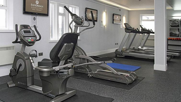 Well equipped gym in Sandman Signature Newcastle Hotel - Citybase Apartments