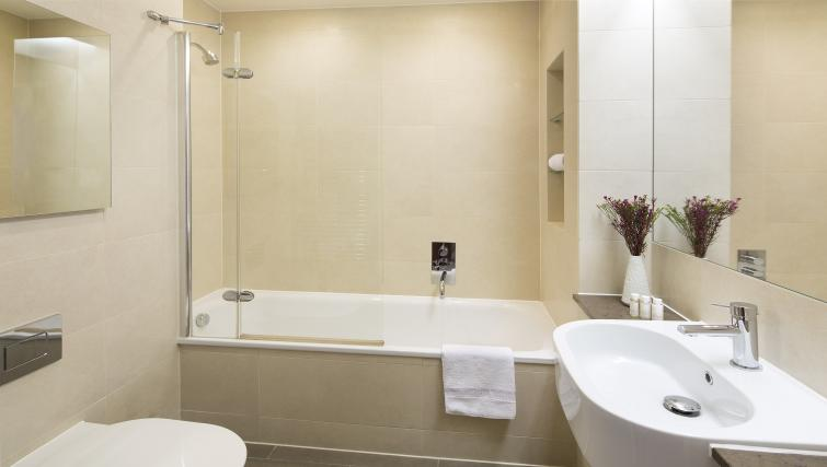 Pristine bathroom at Victoria by Q Apartments - Citybase Apartments