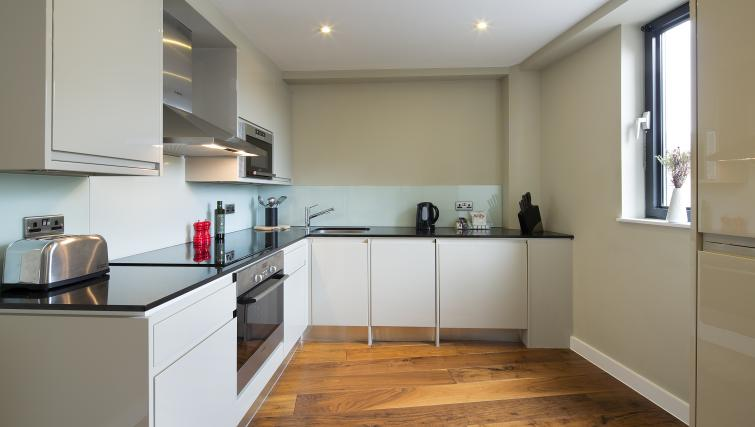 Fully equipped kitchen at Victoria by Q Apartments - Citybase Apartments
