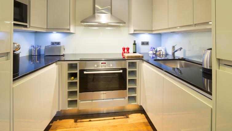 Bright kitchen at Victoria by Q Apartments - Citybase Apartments