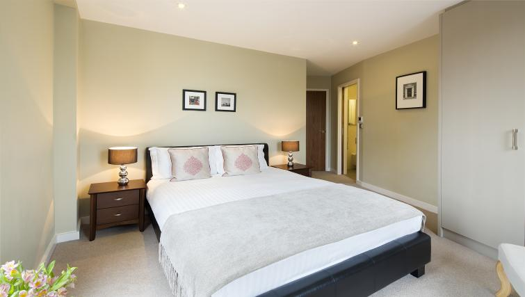 Master bedroom at Victoria by Q Apartments - Citybase Apartments