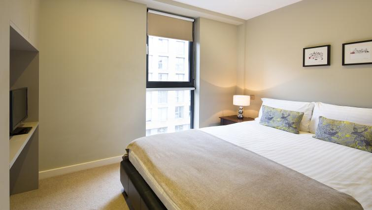 Second bedroom at Victoria by Q Apartments - Citybase Apartments