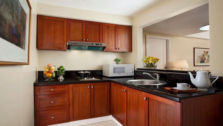 Kitchen in Somerset Olympia Apartments - Citybase Apartments
