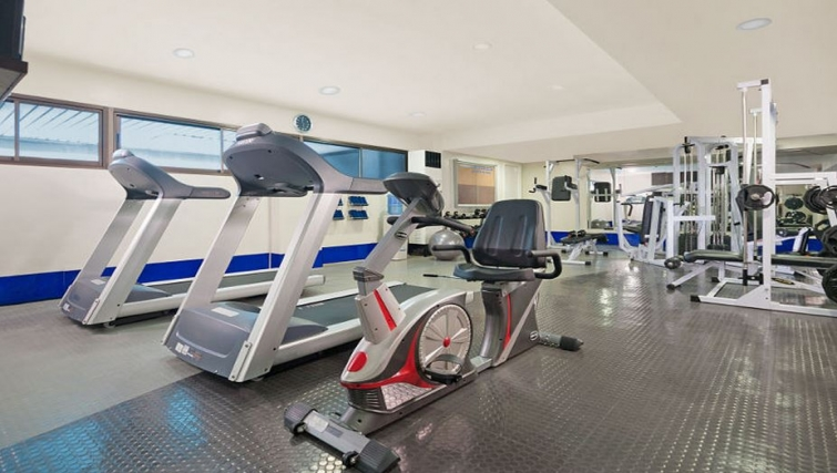 Gym in Somerset Olympia Apartments - Citybase Apartments