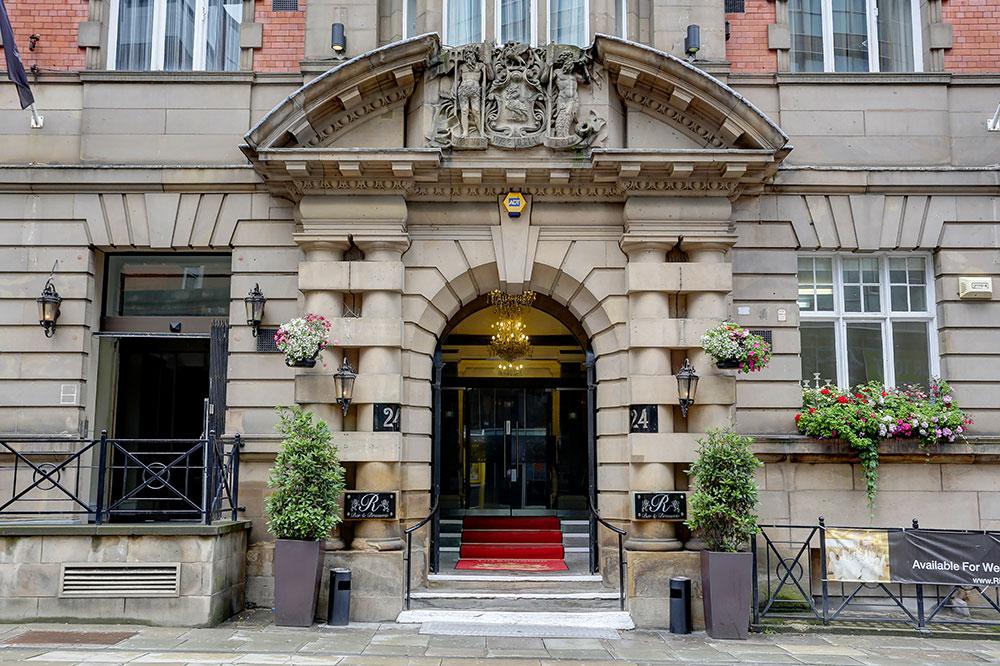 Exterior of  Richmond Liverpool Apartments - Citybase Apartments