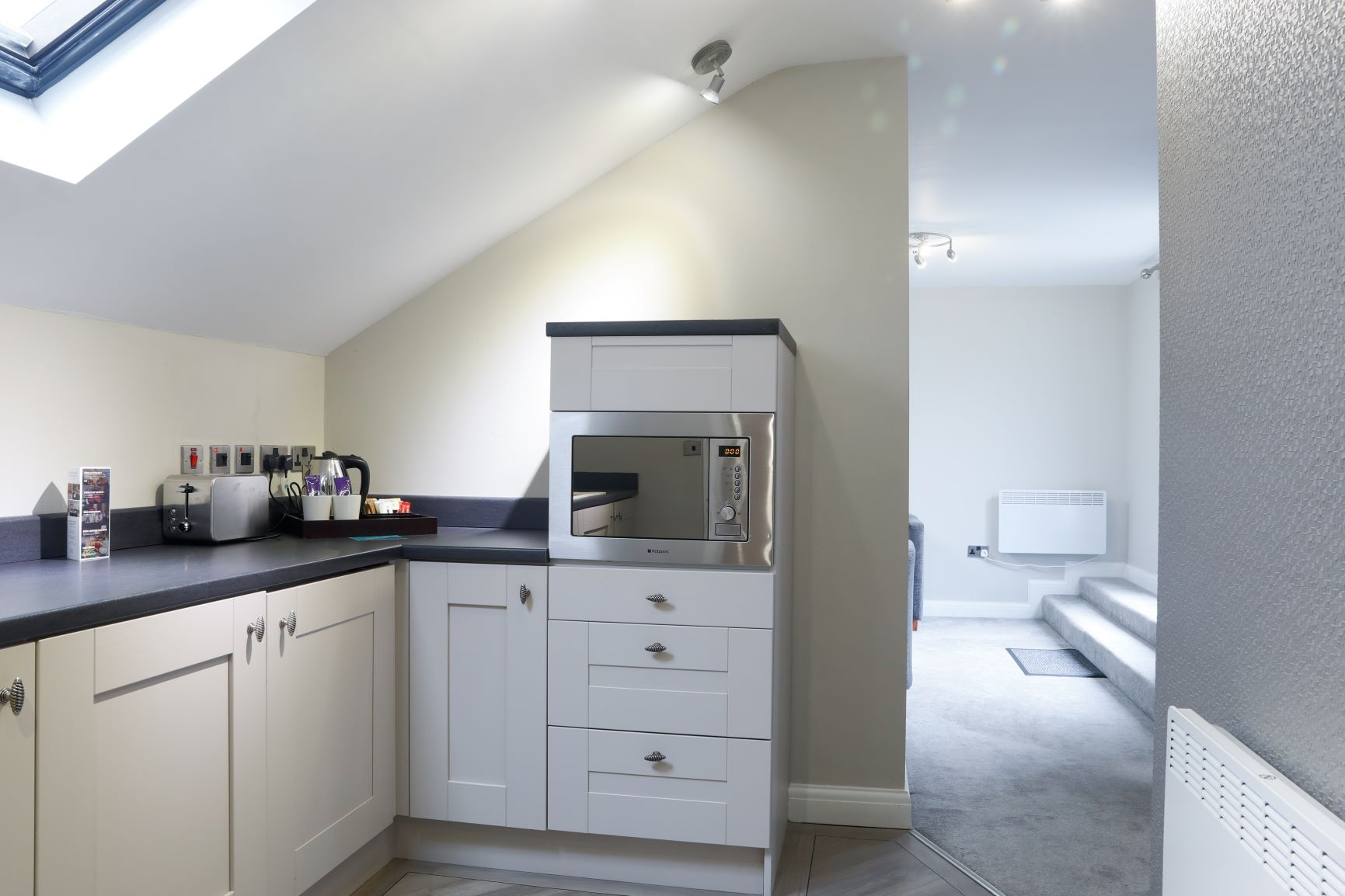 Kitchen at Richmond Liverpool Apartments, Centre, Liverpool - Citybase Apartments