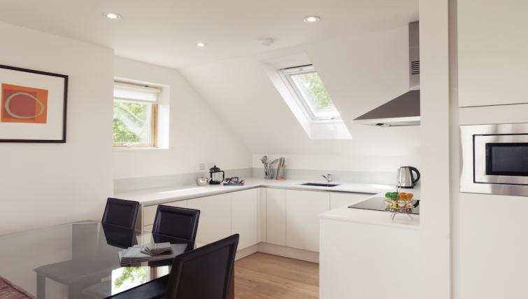 Crisp kitchen at Cambridge Place Apartments - Citybase Apartments