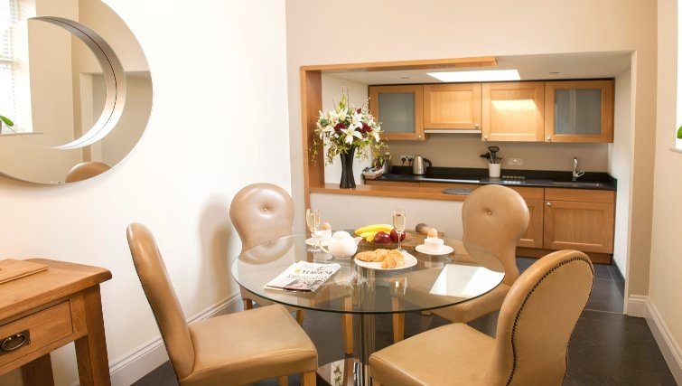 Ideal dining area at Lawrance Apartments - Citybase Apartments