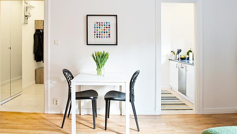 Dining area at Upplandsgatan Apartments - Citybase Apartments