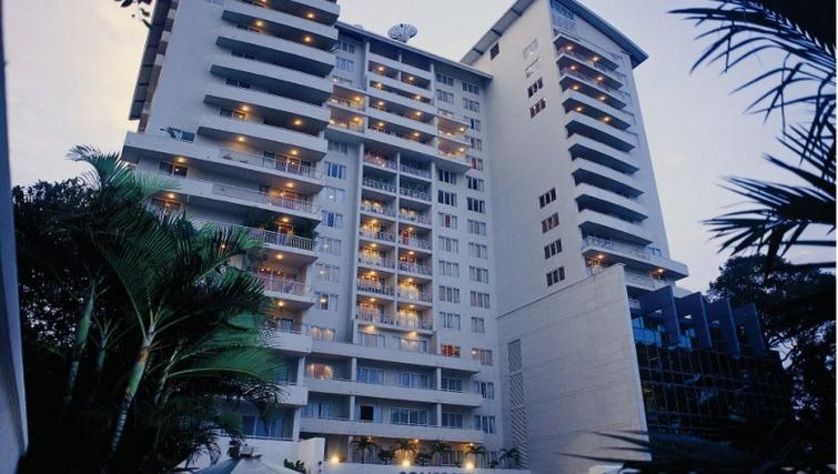 Exterior of Somerset Chancellor Court Apartments - Citybase Apartments