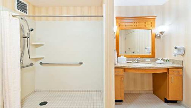 Bathroom in Homewood Suites San Francisco Airport North - Citybase Apartments