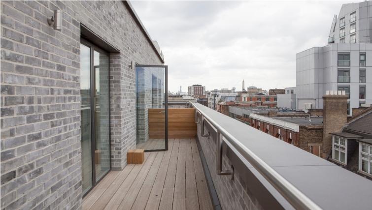 Balcony at London Square Apartments - Citybase Apartments
