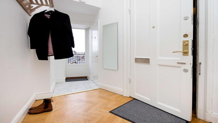 Hallway at Vasastan Apartments - Citybase Apartments
