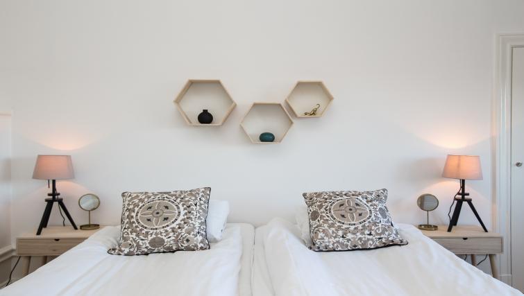 Modern bedding at Vasastan Apartments - Citybase Apartments