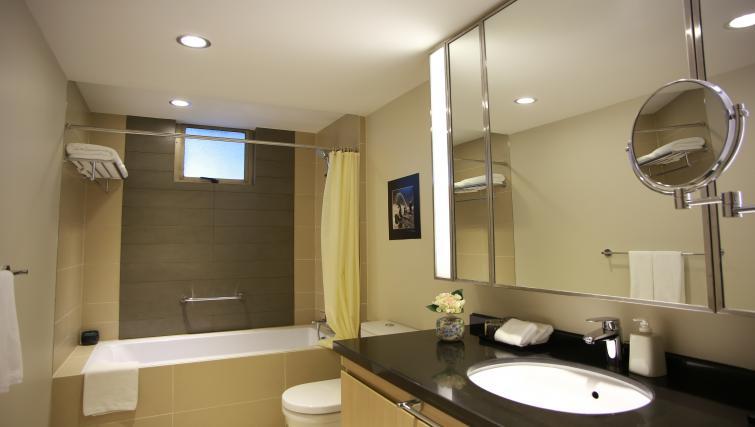 Pristine bathroom at Somerset Ho Chi Minh Apartments - Citybase Apartments
