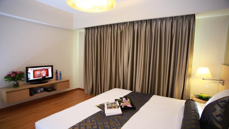Comfortable bedroom at Somerset Ho Chi Minh Apartments - Citybase Apartments